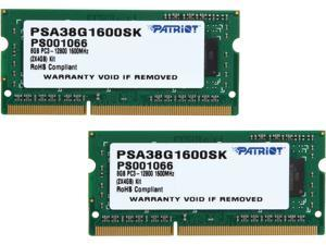 Patriot Memory Signature Apple Line 8GB (2 x 4GB) DDR3 1600 (PC3 12800) ECC Unbuffered Memory for Apple Model PSA38G1600SK