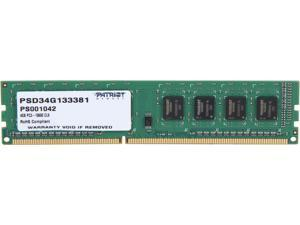 Patriot Signature 4GB 240-Pin DDR3 SDRAM DDR3 1333 (PC3 10600) Desktop Memory