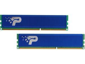 Patriot Signature Line 8GB (2 x 4GB) 240-Pin DDR3 SDRAM DDR3 1333 (PC3 10600) Desktop Memory Model PSD38G1333KH