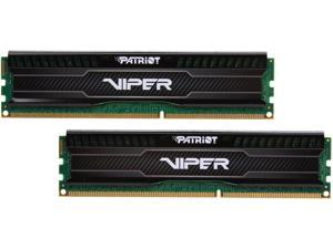 Patriot Viper 3 Low Profile Black 8GB (2 x 4GB) 240-Pin DDR3 SDRAM DDR3 1600 (PC3 12800) Desktop Memory Model PVL38G160C0K