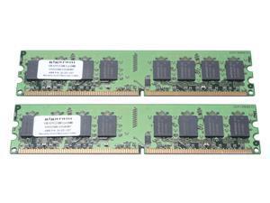 gigaram 2GB (2 x 1GB) 240-Pin DDR2 SDRAM DDR2 667 (PC2 5300) Dual Channel Kit System Memory