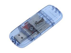 Rosewill RSD-CR106 Blue USB 2.0 External Single slot SD / MMC Card Reader