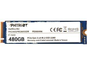Patriot Hellfire M.2 2280 480GB PCI-Express 3.0 x4 Internal Solid State Drive (SSD) PH480GPM280SSDR
