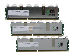 Mushkin Enhanced Silverline 6GB (3 x 2GB) 240-Pin DDR3 SDRAM DDR3 1333 (PC3 10666) Triple Channel Kit Desktop Memory