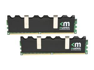 Mushkin Enhanced Blackline 2GB (2 x 1GB) 240-Pin DDR2 SDRAM DDR2 1066 (PC2 8500) Dual Channel Kit Desktop Memory