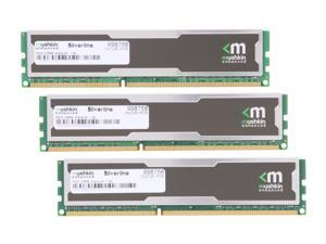 Mushkin Enhanced Silverline 6GB (3 x 2GB) 240-Pin DDR3 SDRAM DDR3 1333 (PC3 10666) Desktop Memory