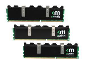 Mushkin Enhanced Blackline 6GB (3 x 2GB) 240-Pin DDR3 SDRAM DDR3 1333 (PC3 10666) Desktop Memory Model 998677B