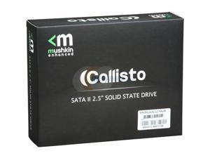 "Mushkin Enhanced Callisto 2.5"" 240GB SATA II MLC Internal Solid State Drive (SSD) MKNSSDCL240GB"