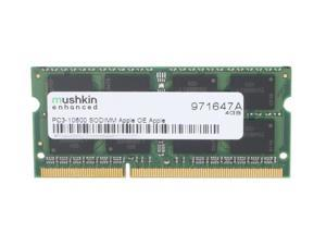 Mushkin Enhanced 4GB 204-Pin DDR3 SO-DIMM DDR3 1333 (PC3 10600) Memory for Apple Model 971647A