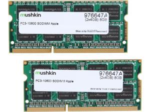 Mushkin Enhanced 8GB (2 x 4GB) 204-Pin DDR3 SO-DIMM DDR3 1333 (PC3 10600) Memory for Apple Model 976647A