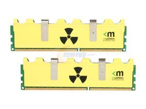 Mushkin Enhanced Radioactive 4GB (2 x 2GB) 240-Pin DDR3 SDRAM DDR3 1600 (PC3 12800) Desktop Memory