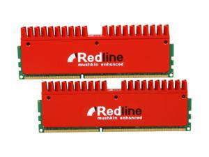 Mushkin Enhanced Redline 8GB (2 x 4GB) 240-Pin DDR3 SDRAM DDR3 1600 (PC3 12800) Desktop Memory