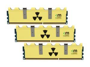 Mushkin Enhanced Radioactive 12GB (3 x 4GB) 240-Pin DDR3 SDRAM DDR3 1600 (PC3 12800) Desktop Memory