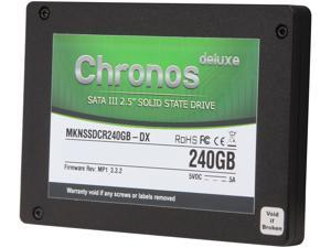 "Mushkin Enhanced Chronos Deluxe MKNSSDCR240GB-DX 2.5"" 240GB SATA III MLC Internal Solid State Drive (SSD)"
