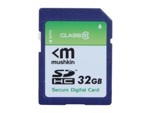 Mushkin Enhanced 32GB Secure Digital High-Capacity (SDHC) Flash Card Model MKNSDHCC10-32GB