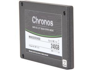 "Mushkin Enhanced Chronos MKNSSDCR240GB 2.5"" 240GB SATA III MLC Internal Solid State Drive (SSD)"