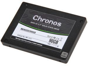 "Mushkin Enhanced Chronos MKNSSDCR90GB 2.5"" 90GB SATA III MLC Internal Solid State Drive (SSD)"