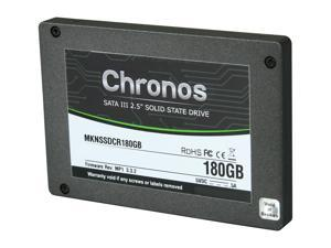 "Mushkin Enhanced Chronos MKNSSDCR180GB 2.5"" 180GB SATA III MLC Internal Solid State Drive (SSD)"