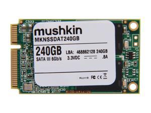 Mushkin Enhanced MKNSSDAT240GB 240GB Mini-SATA (mSATA) MLC Internal Solid State Drive (SSD)