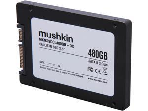 "Mushkin Enhanced Callisto Deluxe MKNSSDCL480GB-DX 2.5"" Internal Solid State Drive (SSD)"