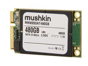 Mushkin Enhanced Atlas Series MKNSSDAT480GB 480GB Mini-SATA (mSATA) MLC Internal Solid State Drive (SSD)