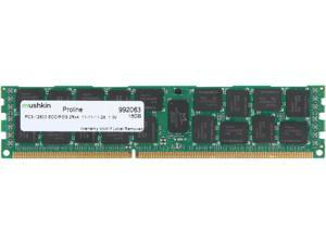 Mushkin Enhanced PROLINE 16GB 240-Pin DDR3 SDRAM ECC Registered DDR3 1600 (PC3 12800) Server Memory Model 992063