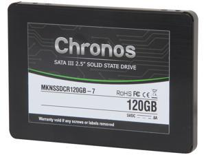"Mushkin Enhanced Chronos MKNSSDCR120GB-7 2.5"" 120GB SATA III Internal Solid State Drive (SSD)"