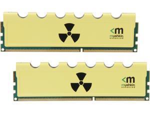 Mushkin Enhanced Blackline RADIOACTIVE 8GB (2 x 4GB) 240-Pin DDR3 SDRAM DDR3 2666 (PC3 21300) Desktop Memory Model 997127Y
