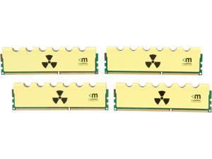 Mushkin Enhanced Blackline RADIOACTIVE 16GB (4 x 4GB) 240-Pin DDR3 SDRAM DDR3 2666 (PC3 21300) Desktop Memory Model 994127Y