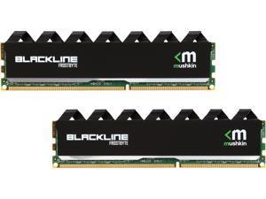 Mushkin Enhanced Blackline 16GB (2 x 8GB) 240-Pin DDR3 UDIMM DDR3 2133 (PC3 17000) Memory Model 997125F