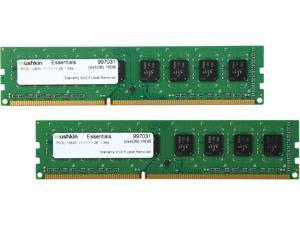 Mushkin Enhanced Essentials 16GB (2 x 8GB) 240-Pin DDR3 SDRAM DDR3L 1600 (PC3L 12800) Desktop Memory Model 997031
