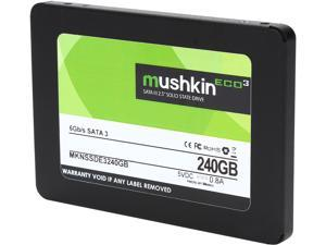 "Mushkin Enhanced ECO3 2.5"" 240GB SATA III TLC Internal Solid State Drive (SSD) MKNSSDE3240GB"