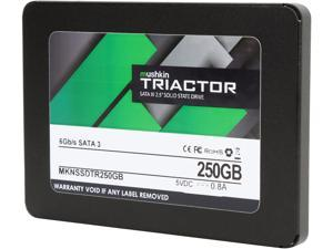 "Mushkin Enhanced TRIACTOR 2.5"" 250GB SATA III Internal Solid State Drive (SSD) MKNSSDTR250GB"