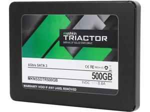 "Mushkin Enhanced TRIACTOR 2.5"" 500GB SATA III TLC Internal Solid State Drive (SSD) MKNSSDTR500GB"
