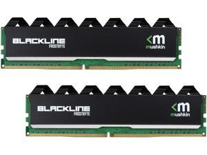 Mushkin Enhanced Blackline 16GB (2 x 8GB) 288-Pin DDR4 SDRAM DDR4 2400 (PC4 19200) Desktop Memory Model MBA4U240FFFF8GX2