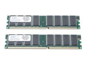 OCZ Value Series 1GB (2 x 512MB) 184-Pin DDR SDRAM DDR 400 (PC 3200) Dual Channel Kit Desktop Memory