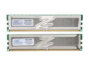 OCZ Platinum 1GB (2 x 512MB) 240-Pin DDR2 SDRAM DDR2 800 (PC2 6400) Dual Channel Kit Desktop Memory