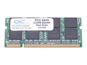 OCZ 1GB 200-Pin DDR2 SO-DIMM DDR2 533 (PC2 4200) Laptop Memory