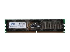 OCZ S.O.E 1GB 240-Pin DDR2 SDRAM DDR2 800 (PC2 6400) Desktop Memory Model OCZ2SOE800URB1G