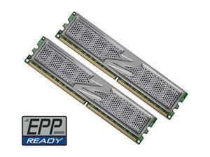 OCZ Titanium 1T 2GB (2 x 1GB) 240-Pin DDR2 SDRAM DDR2 800 (PC2 6400) Dual Channel Kit Desktop Memory Model OCZ2T8002GK