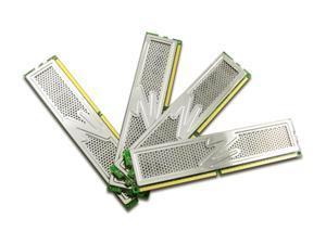 OCZ Platinum 4GB (4 x 1GB) 240-Pin DDR2 SDRAM DDR2 800 (PC2 6400) Quad Kit Desktop Memory Model OCZ2P8004GQ