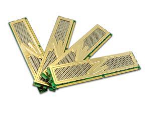 OCZ Gold 4GB (4 x 1GB) 240-Pin DDR2 SDRAM DDR2 800 (PC2 6400) Quad Channel Kit Desktop Memory Model OCZ2G8004GQ