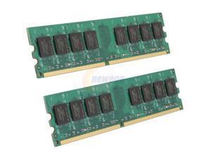 OCZ Value 4GB (2 x 2GB) 240-Pin DDR2 SDRAM DDR2 800 (PC2 6400) Dual Channel Kit Desktop Memory Model OCZ2V8004GK
