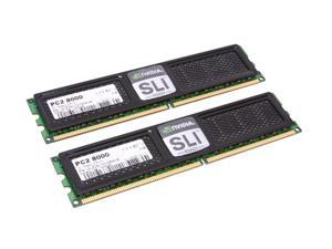OCZ SLI-Ready Edition 4GB (2 x 2GB) 240-Pin DDR2 SDRAM DDR2 1000 (PC2 8000) Dual Channel Kit Desktop Memory Model OCZ2N1000SR4GK