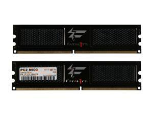 OCZ Fatal1ty Edition 4GB (2 x 2GB) 240-Pin DDR2 SDRAM DDR2 1066 (PC2 8500) Dual Channel Kit Desktop Memory