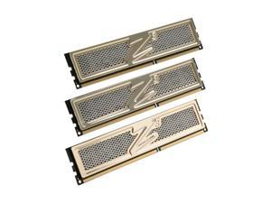 OCZ Gold 6GB (3 x 2GB) 240-Pin DDR3 SDRAM DDR3 1600 (PC3 12800) Low Voltage Desktop Memory Model OCZ3G1600LV6GK