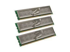 OCZ Platinum 6GB (3 x 2GB) 240-Pin DDR3 SDRAM DDR3 1333 (PC3 10666) Triple Channel Kit Desktop Memory Model OCZ3P1333LV6GK