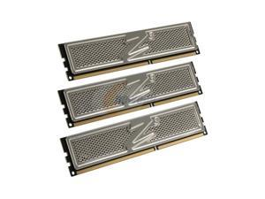 OCZ Platinum 3GB (3 x 1GB) 240-Pin DDR3 SDRAM DDR3 1600 (PC3 12800) Triple Channel Kit Desktop Memory Model OCZ3P1600LV3GK
