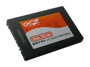 """OCZ Apex Series OCZSSD2-1APX120G 2.5"""" 120GB SATA II MLC Internal Solid State Drive (SSD)"""