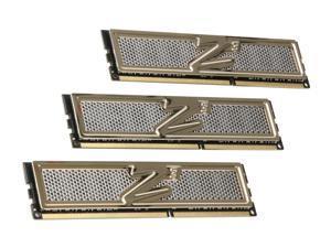 OCZ Gold 6GB (3 x 2GB) 240-Pin DDR3 SDRAM DDR3 2000 (PC3 16000) Low Voltage Desktop Memory Model OCZ3G2000LV6GK
